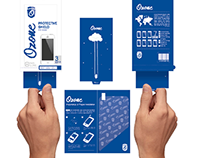 Ozone Screen protector branding