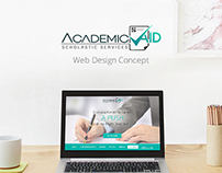 Academic Aid Web Design