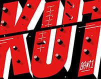 Typography/t-shirt design/ HotKut