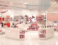 Hello Kitty store design