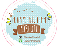 Happy Healthy Parfait Logo