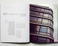 Modernizm - Warsaw examples - editorial design project
