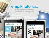 Empikfoto mobile application