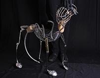 Dog puppet