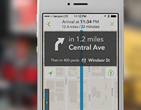 MapQuest v4 for iPhone and Android