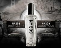 No. 209 Gin Website