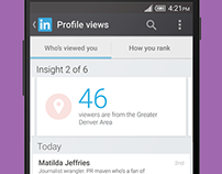 LinkedIn Mobile Mirror