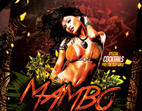 Mambo Night | Flyer Template PSD