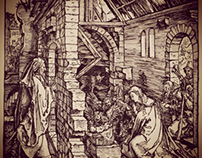 Copy of engraving by Albrecht Durer