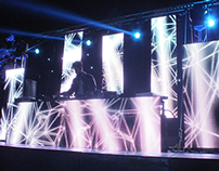 VIDEO MAPPING STAGE DESIGN HOUSEREPUBLIC /MARCO FARAONE