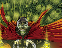 Art Contest Spawn issue 250 Colors