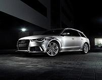 PRETOS.de Audi RS6 Avant quattro brushed titanium