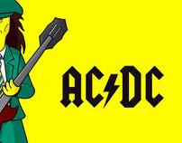 AC/DC version Simpson's
