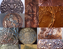 Chasing and Repousse Mood Board Project