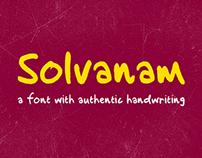 Solvanam Font