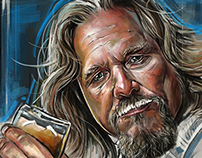 Pop 2 Action - The Big Lebowski Character Tribute