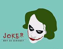 Joker Vector Painting