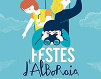 Cartel Fiestas Alboraia 2014
