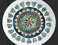 Suzani Tableware