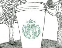 Grande Soy Latte at Central Park