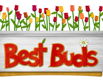 Best Buds Logo Design