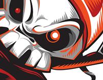 STIGA Sports: foamboard character design