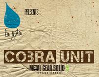 """""""Cobra Unit (MGS3)"""" Posters"""