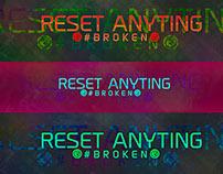 Reset Anything #Broken 1k Teamtage 2D Background