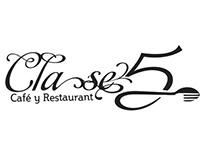 Logo Clase5 Restaurant