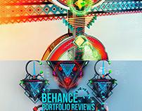 2 Behance Portfolio Reviews Posters - Agadir