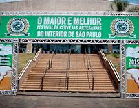 Sinalização - Festival de cervejas Slow Brew Brasil