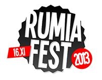 Rumia Fest 2013 - Music Festival Identity