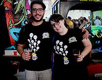 Camisetas Festival de cervejas Slow Brew Brasil