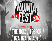 Rumia Fest 2014 - Music Festival Poster