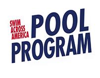 Swim Across America Pool Program Logo Comps