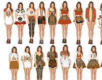 Womenswear project: Bright sunshine