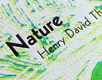 Nature Letterpress Reduction Print