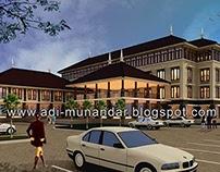 Desain Arsitektur Hotel Bali Kontemporer di Legian