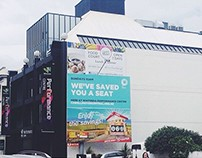 C3 Wellington Central Billboard & Campaign
