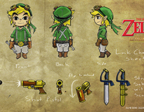 The Legend of Zelda Character Sheet