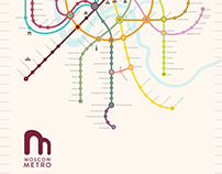 Moscow Metro Map