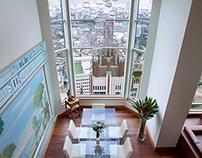 Penthouse @ The Park, Chidlom, Bangkok Thailand.