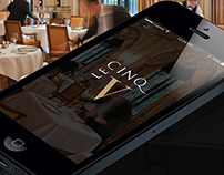 Restaurant App - Le Cinq