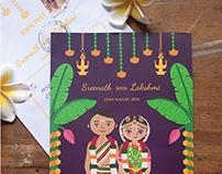 Sreenath weds Lakshmi