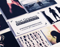Website and business card for Freelance Photographer