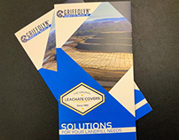 Griffolyn® Landfill Covers Quadfold Design