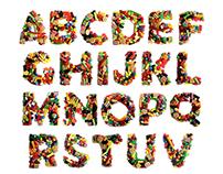 Custom Photographic Typeface Design - Allen's