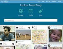 Social Travel WebApp
