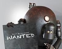 Rusty Robot CGI