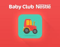 Baby Club Nestlé - Paint App